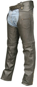 Allstate Leather Buffalo Leather Unisex Chaps