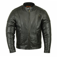 DS779 Men's Vented M/C Jacket w/ Plain Sides