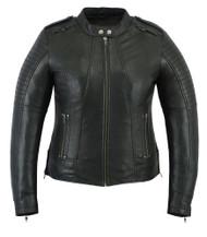DS893 Women's Updated Biker Style Jacket