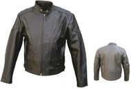 Allstate Leather Men's AL2004 Vented Riding Jacket