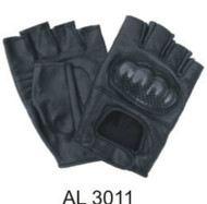 Allstate Leather 3011 Fingerless Gloves