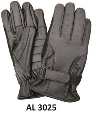 Allstate Leather 3025 Gel Palm Motorcycle Gloves