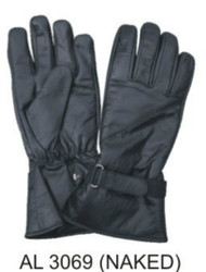 Allstate Leather 3069 Naked Leather Riding Gloves