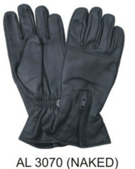Allstate Leather 3070 Lined Naked Leather Riding Gloves