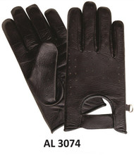 Allstate Leather 3074 Men's Unlined Riding Gloves