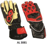 Allstate Leather 3081Men's Sport Bike Riding Gloves