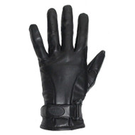 Full Finger Leather Riding Gloves With Velcro