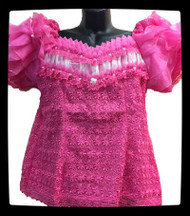Blouse #6 (Light Hot Pink)