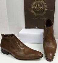 Men's Shoes A21 (Brown)