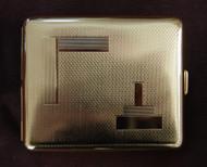 Metal Wallet - Danzig - 1184/B   Solid Brass