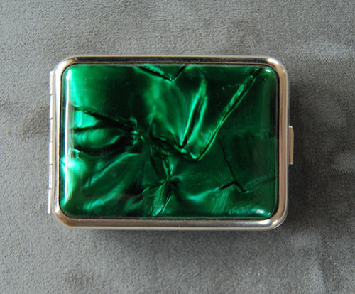 Green bakelite on both sides