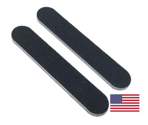 "Black Mini File 3.5"" x .63"": 100/180 grit"