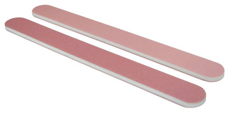 Standard Pink/Lt. Pink 280/320 Washable Nail File, Minor Flawed