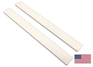 "Standard White: 7"" Square End"