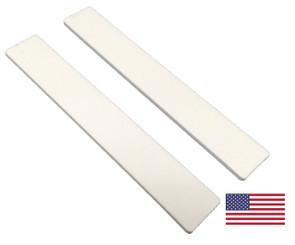 """Standard White: 1-1/8"""" Wide Jumbo"""