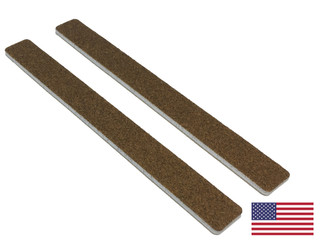 """Standard Brown: 7"""" Square End"""
