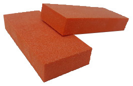 2 Way Slim Orange Buffer: 150 grit