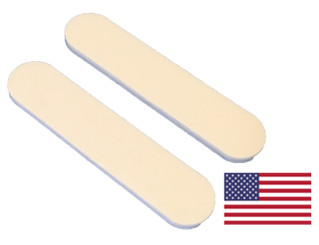 "White Mini File 3.5"" x .75"": 240/400 grit"