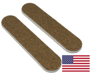 "Brown Mini File 3.5"" x .75"": 80/80 grit"