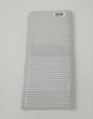 "White 3 1/4"" X 3/4"" 180/240 One Time Use Mini Files 50 pack, Minor Flawed"