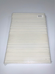 "White 5 3/4"" X 3/4"" 180/240 50-pack Minor Flawed"