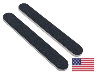 "Black Mini File 3.5"" x .5"": 100/180 grit"