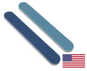 "Premium Blue Mini File 3.5""x .5"": 120/240 grit"