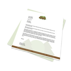 Full Color Premium Printed Letterhead