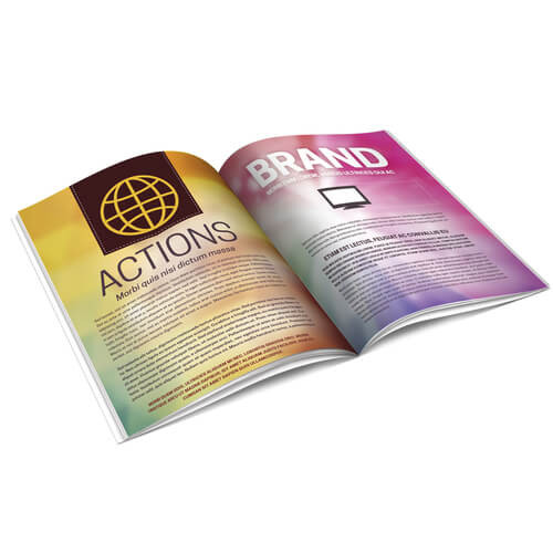 Multi-Page Full Color Booklets