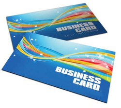 16pt Full Color  Business Cards