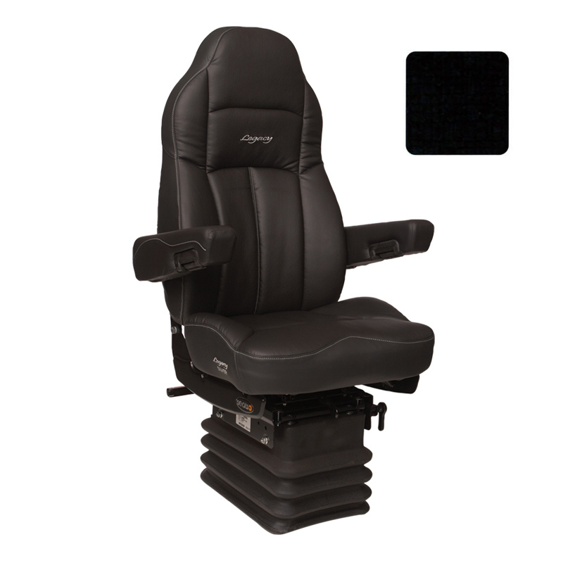 Legacy Silver Highback Truck Seat