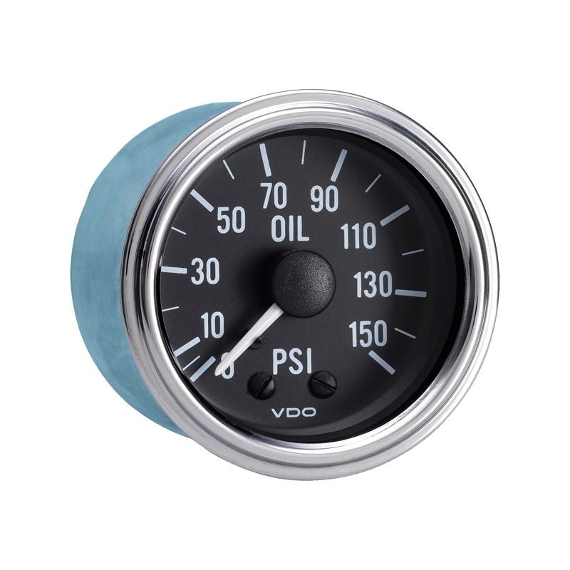 Semi Truck Mechanical Oil Pressure Gauge With Optional Kit Series 1