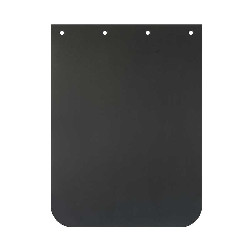 GG Grand General 30926 24 X 30 Inches Black Poly Mud Flap w//White Freightliner Logo