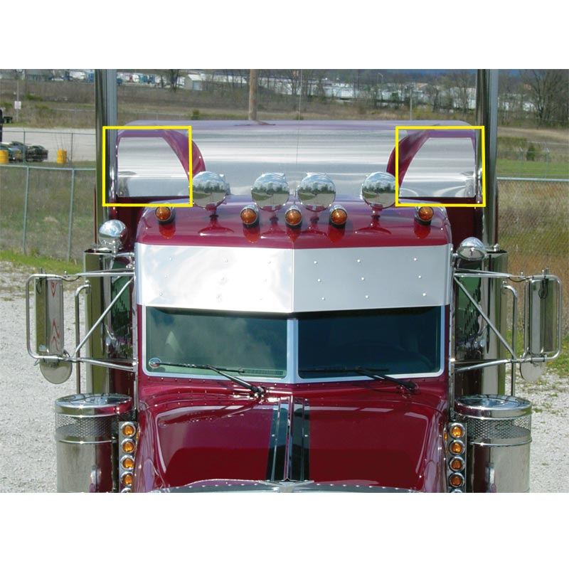 Peterbilt Ultra Cab/Flat Top Sleeper Cap By Roadworks