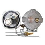 International 9900 9900i ix Locking Gas Caps