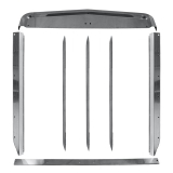 Kenworth T660 Grill Inserts & Surrounds