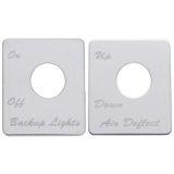 Peterbilt 379 Switch Plates