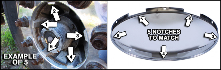 Axle Cover And Hub Cap Guide Raneys Truck Parts