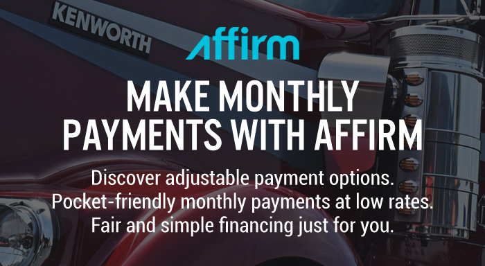 Make Monthly Payments with Affirm