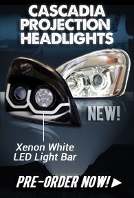 New Cascadia Headlights