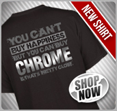 Raney's Chrome Happiness T-shirt