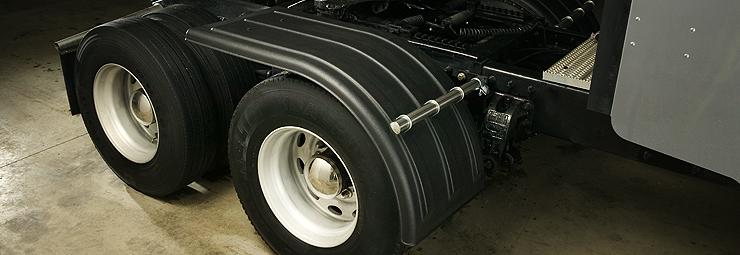 Big Truck Fenders Plastic : Half fenders raney s truck parts