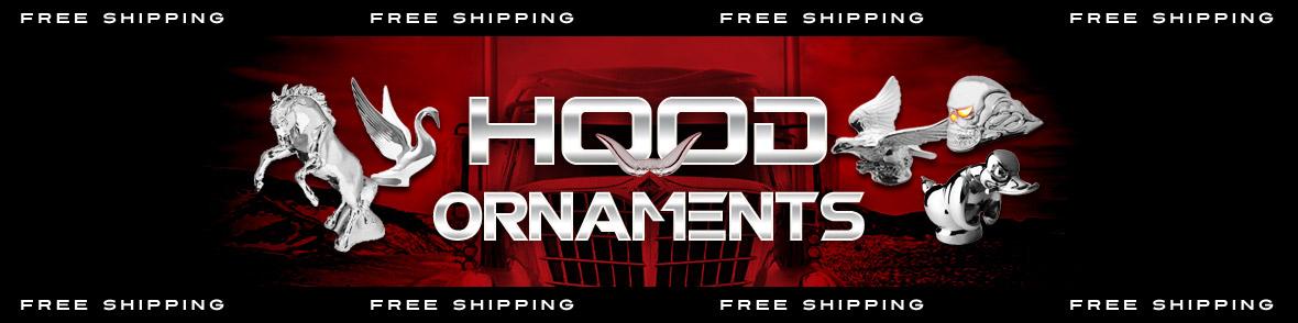 Shop Semi Truck Hood Ornaments (Chrome, Custom) | Raney's
