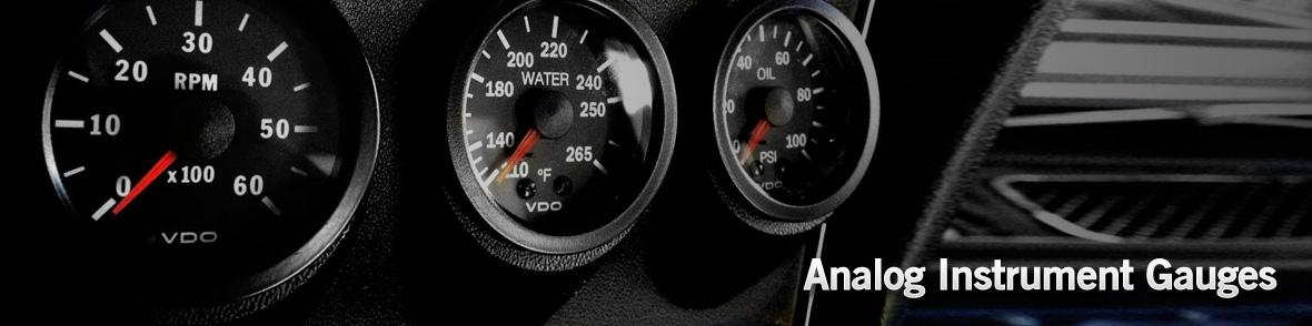 Analog Instrument Gauges | Raney's Truck Parts