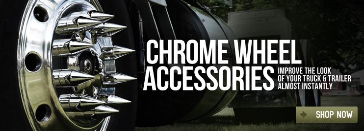 Big Rig Chrome Wheel Accessories