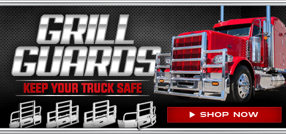 Semi Truck Grill Guards