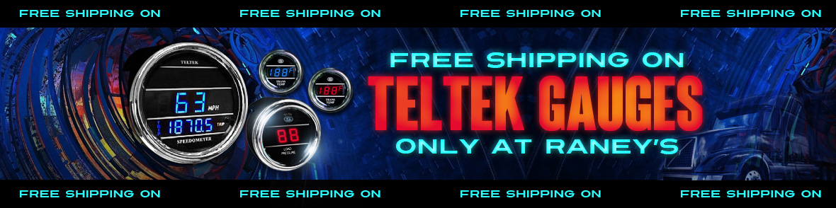 Teltek Digital Gauges For Sale Online | Raney's