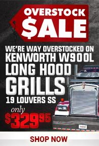 Kenworth Grill Sale