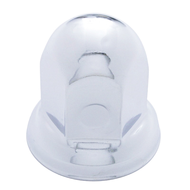 33mm Chrome Steel Lug Nut Cover With Flange