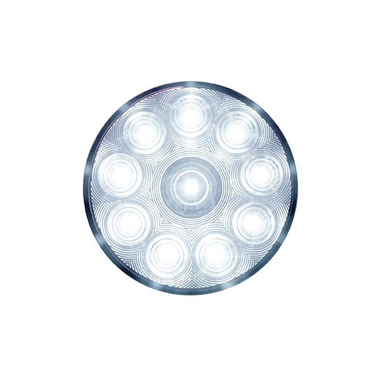 """LED Back Up Reverse Light 10 LED 4"""" Round"""